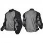 Куртка мотоциклетная (текстиль) Summer Night City черно-серебрис